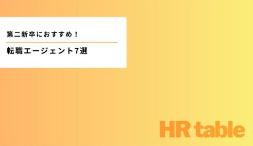 【第二新卒向け】おすすめの転職エージェントランキングTOP7|求人・実績・サポートをもとに厳選!